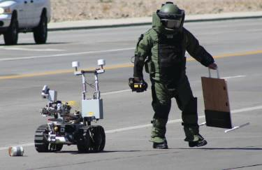 Bomb Squad Training