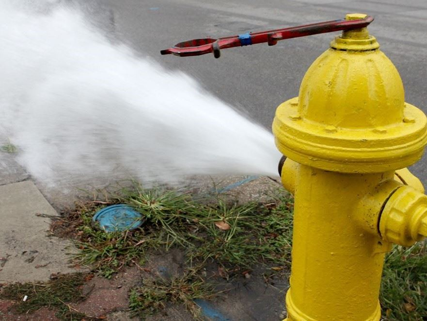 hydrant flushing website