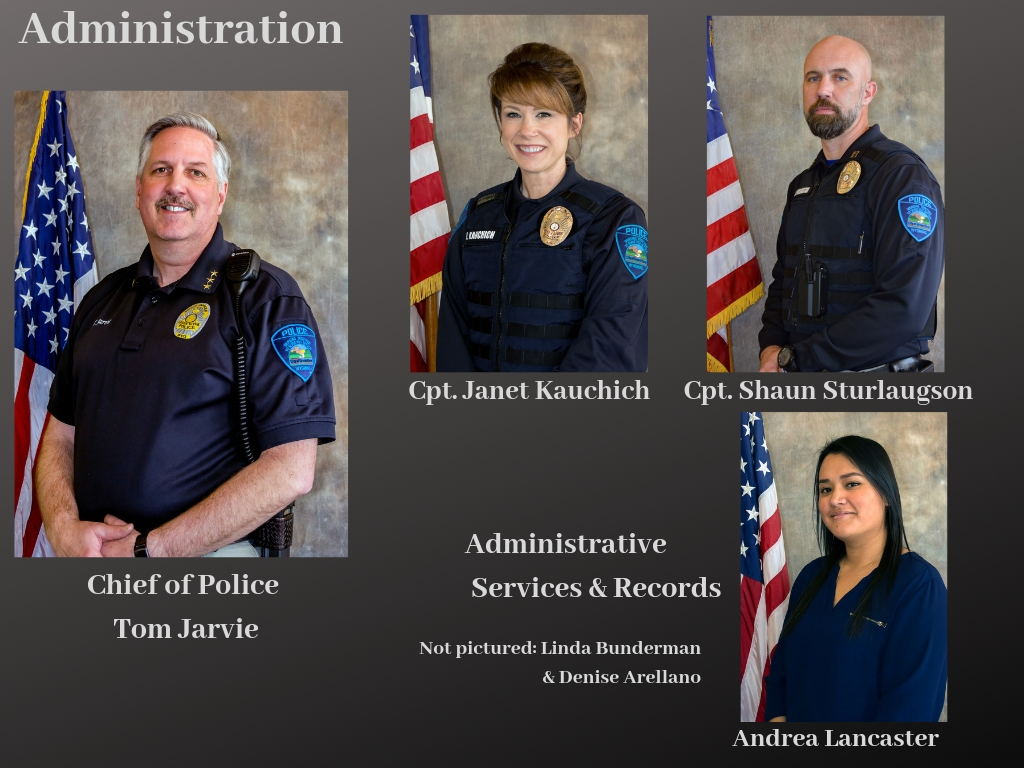 Photos of Police Administration