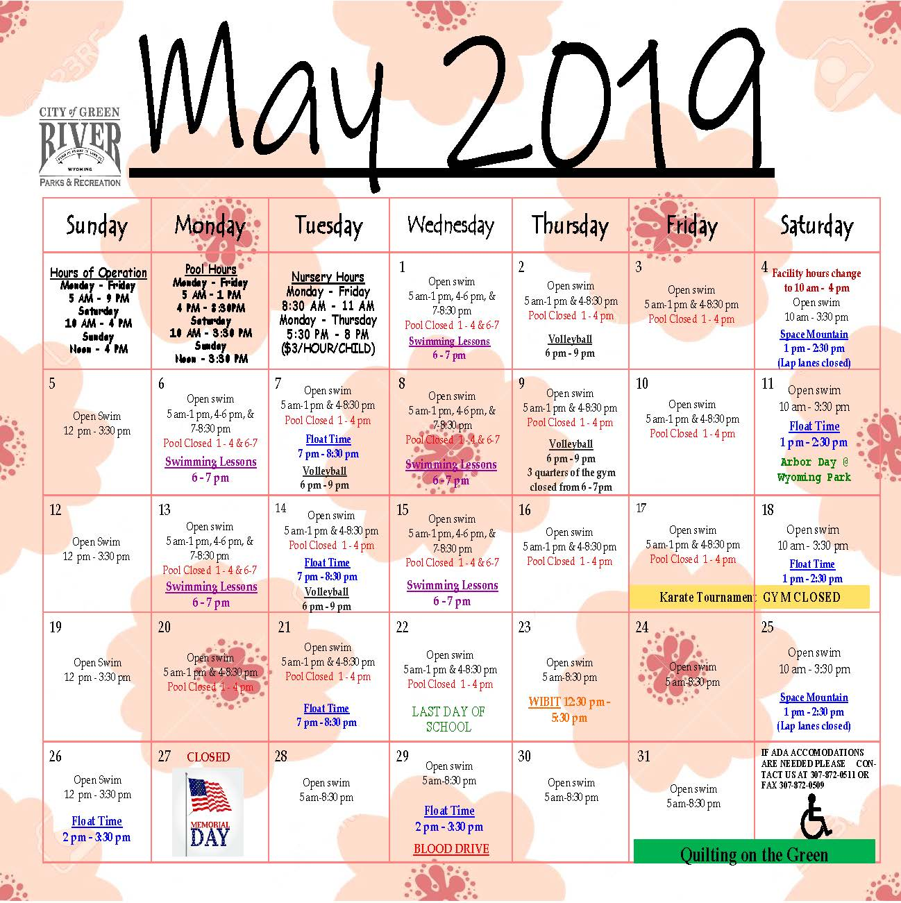 5.30.2019 Calendar and Newsletter_Page_1