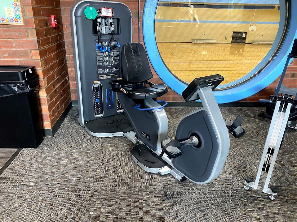 Cardio Hall Bike with Weights
