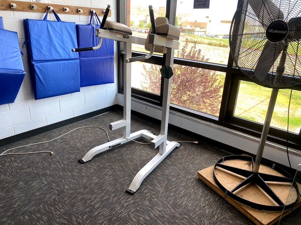 Cardio Hall Captains Chair